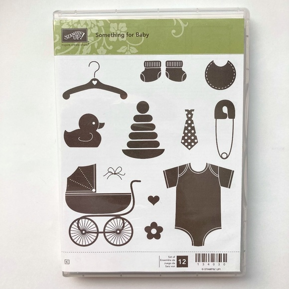 Stampin' Up! Something for Baby Rubber Stamp Set